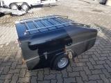 Schuring Anhänger TM 600 mit Auto und Motorradzulassung EZ 02-2002 guter Zustand